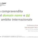 La compravendita del domain name